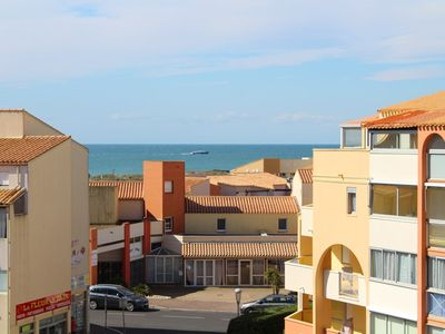 Photo for BEAUTIFUL SEA VIEW!!! RES WITH SWIMMING POOL AND PARKING, 100M FROM THE SEA - CAP D'AGDE - ref:...