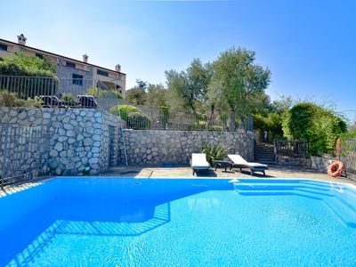 Photo for Casa La Giuggiola with Private Pool, Sea View, Garden and Parking