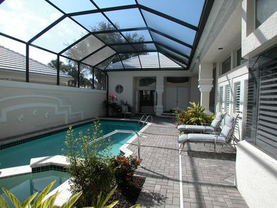 Courtyard Pool/Spa - 1BR-1BA Guest Quarters and 2 BR-2.5 BA Main Home