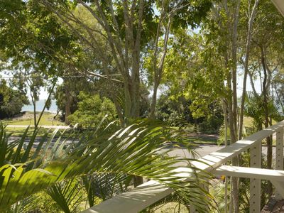Photo for Sea Breeze & Water Views among the palm tree canopy