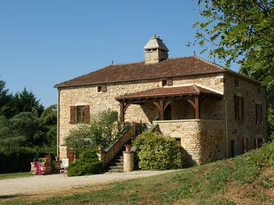 Photo for Magnificent country house with authentic atmosphere in Prats-du-Périgord