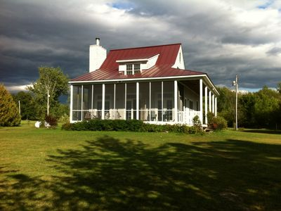 Photo for Lakefront Cottage with Sunsets over Lake Champlain and Adirondack Mountains