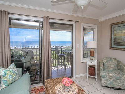 Photo for Seaside Villa 326 - Great oceanfront view with in unit washer & dryer