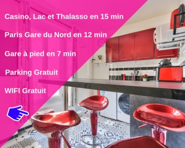 Photo for Paris Gare du Nord - Stade de France - Casino, Lake & Thalasso 12min