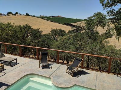 Photo for Hideaway House on 30acre Windwood Ranch, Private Pool, Vineyard Views, Tennis