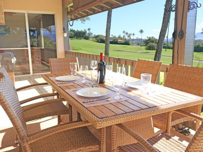 Photo for Private Lanai With Beautiful Sunsets !! And AC!!