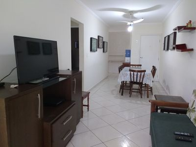 Photo for Apt 2 Bedrooms / Air conditioning / 2 car spaces / Gourmet balcony / 60m from the beach