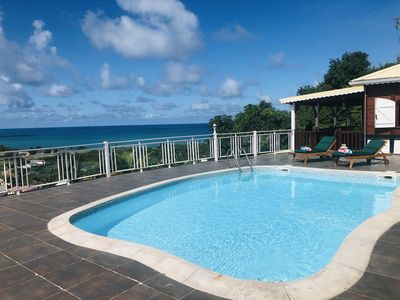 KABAN A LOULOU - 2 bedrooms villa with Seaview in Friar's Bay!