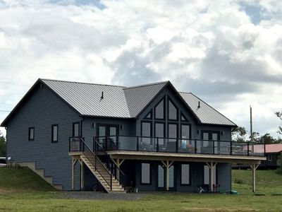 Photo for Breathtaking sunrise and sunset ocean and beach views on newly built home in Nova Scotia!