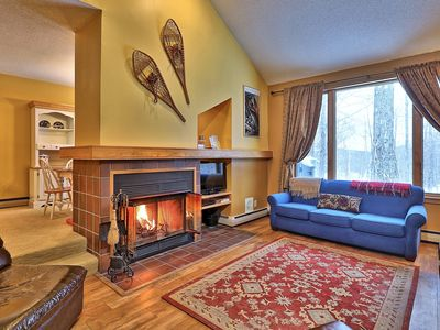 Photo for The Woods: 2BR/2.5BA Light & Airy Condo Close to Everything w/ Pool, Spa & more