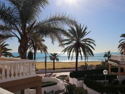 Photo for COZY BEACHFRONT HOUSE IN LUXURY RESIDENTIAL 10 MINUTES AWAY FROM VALENCIA