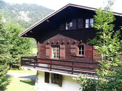 Photo for typical land-wood chalet in Les Contamines Montjoie -Mont-Blanc country