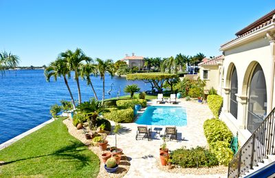 Photo for Small Luxury Apartment  overlooking the Caloosahatchee river.