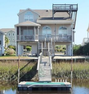 Photo for CONC 79 Modern, well appointed canal home, with upgrades to make your week at the beach, perfect