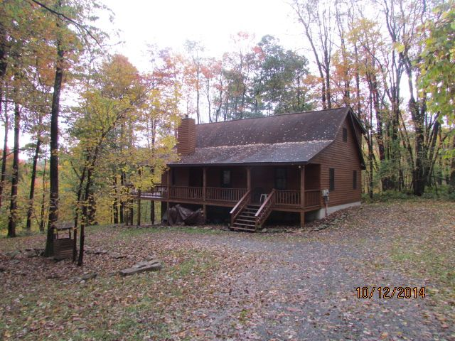 peaceful cabin in the woods close to wisp ski resort and