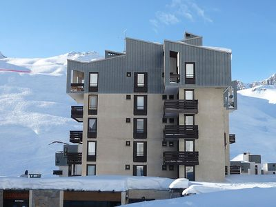 Photo for Apartment 318 m from the center of Tignes with Lift, Balcony (111437)