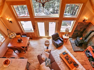 Photo for Cozy Lake Almanor Cabin w/Large Deck, Walk to Lake