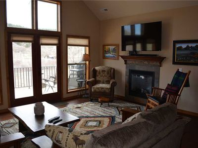 Photo for Riverside B-8: 4 BR / 2 BA townhome in Pagosa Springs, Sleeps 8