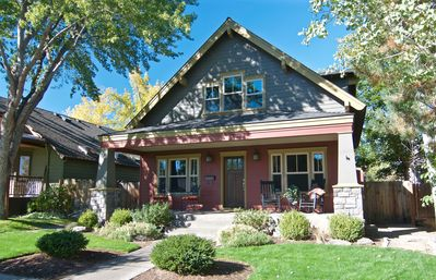 Photo for Bluebird Day - Harmon Park Bungalow Exceptional Location Bike or Walk Everywhere
