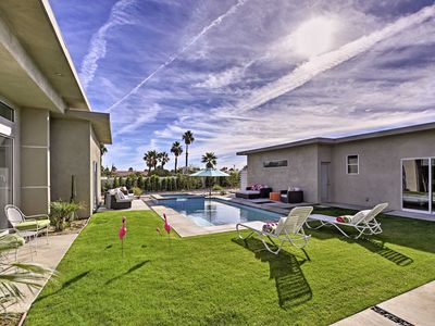 Photo for Stylish Palm Springs Home w/ Pool & Casita!