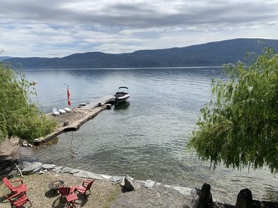 Photo for Water Front 2 bedroom suite.  In the heart of the  Okanagan, Killiney Beach