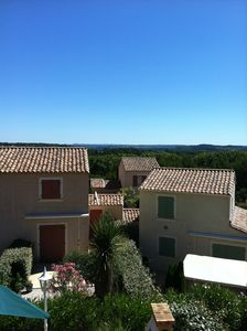 Panoramic Views of the Languedoc countryside from the Master Bedroom