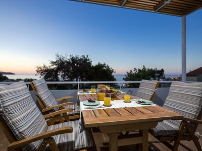 Photo for Celeni Residence villa with sea view & parking