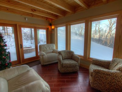 Photo for Family Ski-In/Ski-Out Mountain Lodge on Upper Tyro Slope at Wintergreen w/Gas Fireplace & Fire Pit