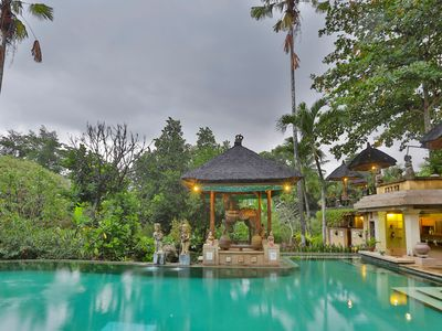 Photo for 1 Bedroom private balcony near Ubud with views of the grounds and rice fields