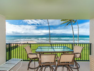 Photo for 60 Feet From The Ocean With Amazing Views Of Molokai And Lanai