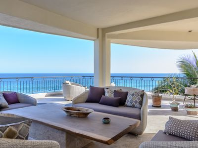 Photo for BEACHFRONT PENTHOUSE 5,500sq/ft  up to 10 people