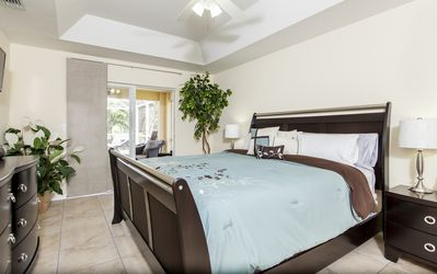 Master Bedroom with pool access