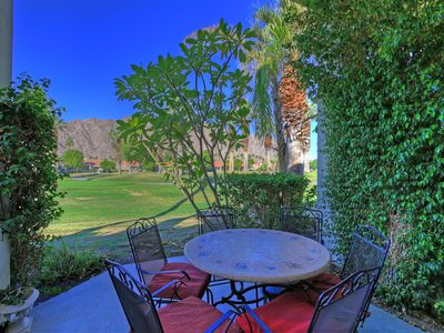 Photo for 180LQ PGA WEST 2 BEDROOM 2 BATH CONDO WITH VIEWS OF PALMER COURSE AND AMAZING VIEWS OF THE SANTA ROSA MOUNTAINS