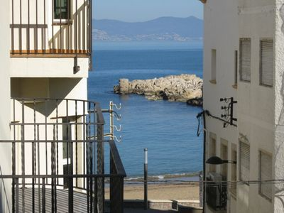 Photo for Costabravaforrent Farina 1, apartment in the center of the village 50m from the beach