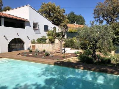 Photo for house for 8 people with swimming pool in the Var hinterland