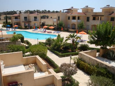 Photo for Townhouse Polis Gardens Large Communal Pool and Wi Fi
