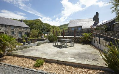 Photo for Exclusive 5* 2 bedroom stone cottage with log-burning fire and offering a stunning coastal location