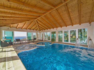 Photo for Stunning Villa Residence Lantoni with big indoor  swim. pool in Mlini, Dubrovnik
