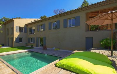 Photo for Villa with pool, St Tropez, 10 people, 5 bedrooms