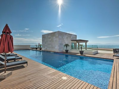 Photo for Coastal Mexico Penthouse w/Views & Rooftop Pool!