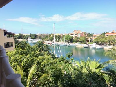 Photo for Marina Front 4 Bedroom Penthouse Condo: Fantastic views of the Caribbean Ocean