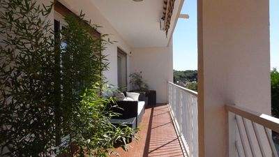 Photo for Apartment 81 m2, Terrace Sea view