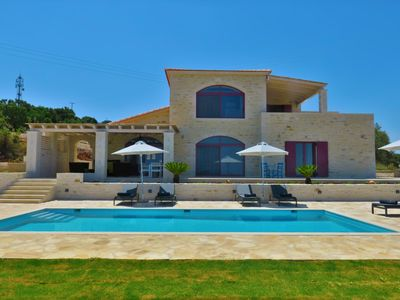 Photo for Villa Dionysos, luxury villa with fantastic views on a large plot