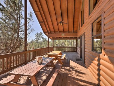 Photo for Spacious Show Low Cabin w/Deck- Near Hiking & Golf