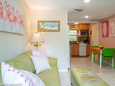 Photo for Flamingo Cottage: Romantic Tropical Retreat in Gulfport Waterfront District