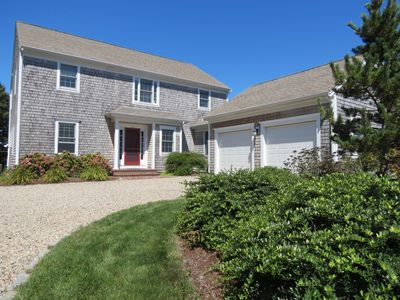 Built in 2007 this sparkling year round home is in the popular Ellis Landing Beach neighborhood of East Brewster