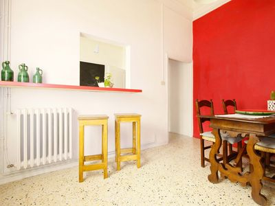Photo for Lovely spacious hip apartment inner Florence