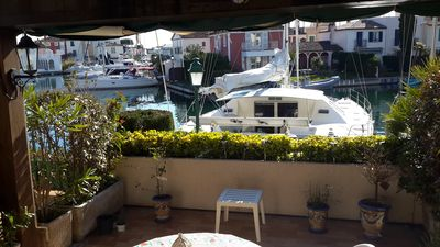 Photo for Canalside, Ground Floor Apartment, Gulf of St Tropez