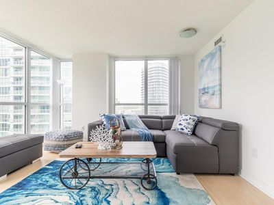 Photo for Simply Comfort. CN Tower View 2bd 2bath