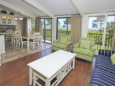 Photo for Direct Ocean Front 4 Bedroom Townhome / Family Friendly / Freshly Decorated